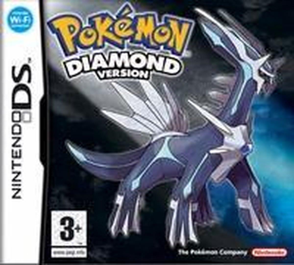 Pokemon Diamond een nieuw pokemon avontuur begint