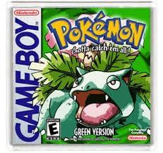 Pokemon Green het allereerste pokemon spel