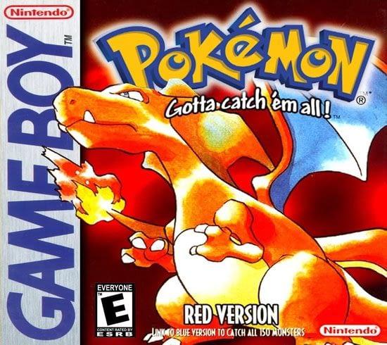 Pokemon Red is het eerste pokemon avontuur wat je kunt spelen