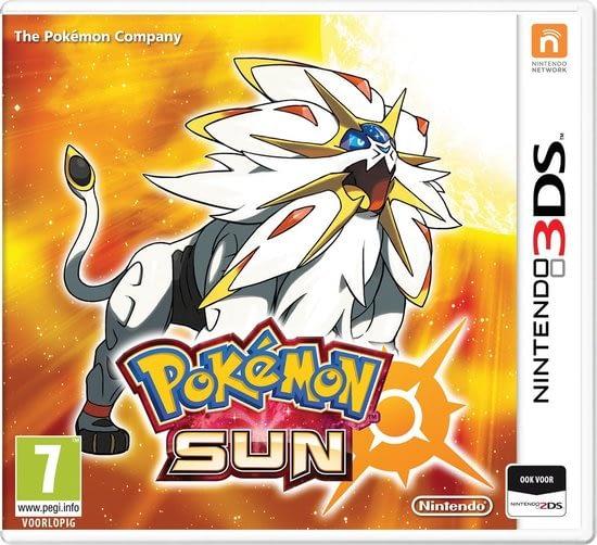 Pokemon Sun alweer nieuwe pokemons in een nieuwe regio