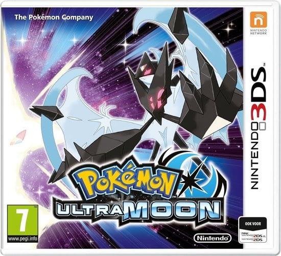 Pokemon Ultra Moon vervolg op pokemon moon