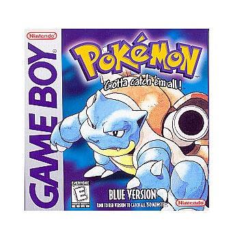 Pokemon Blue onderdeel van de eerste pokemon reeks