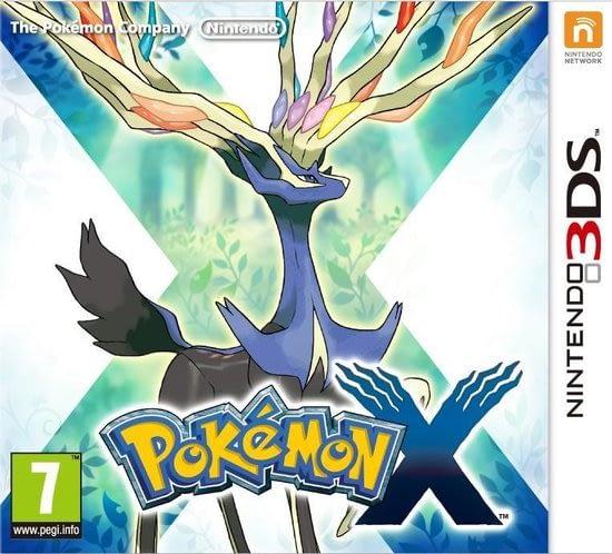Pokemon X een nieuwe reeks pokemon avonturen
