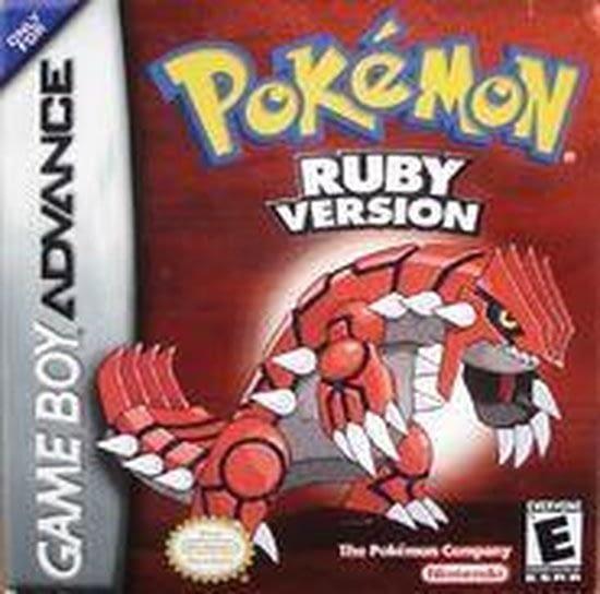 Pokemon Ruby met de machtige Groudon
