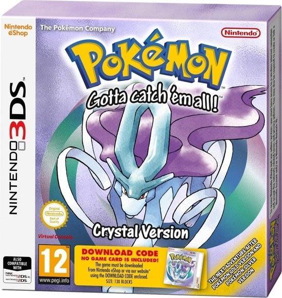 Pokemon Crystal de verbeterde versie van goud en zilver