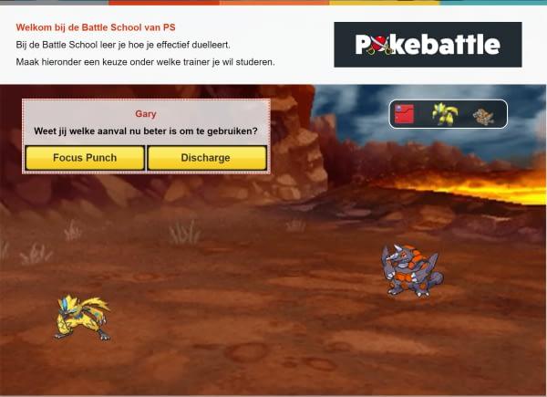 Pokemon Battle School