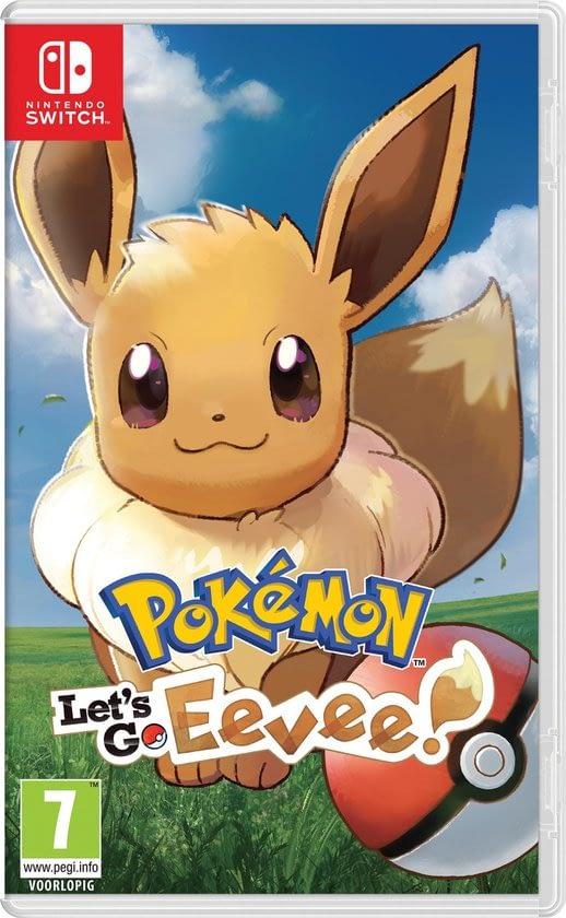Pokemon Let's go Eevee! waar alles draait om eevee